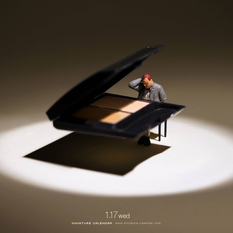 miniature calendar by tatsuya tanaka 16 This Artist Has Created a Miniature Scene Every Single Day Since 2011