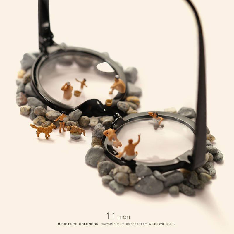 miniature calendar by tatsuya tanaka 17 This Artist Has Created a Miniature Scene Every Single Day Since 2011