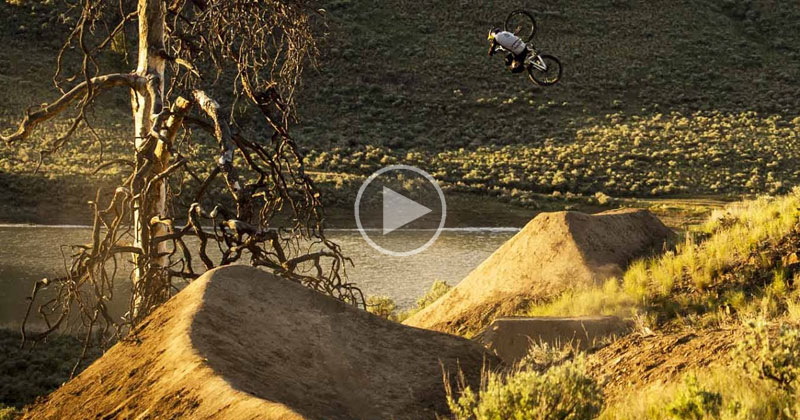 No Music Necessary for this Incredible Run by Brandon Semenuk