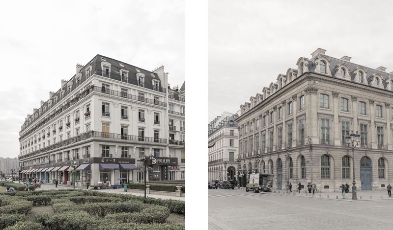 paris syndrome by francois prost 3 Theres a Fake Paris in China and the Side by Side Photos are Eerie