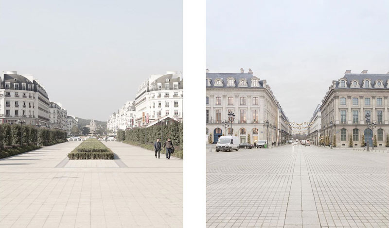 paris syndrome by francois prost 5 Theres a Fake Paris in China and the Side by Side Photos are Eerie