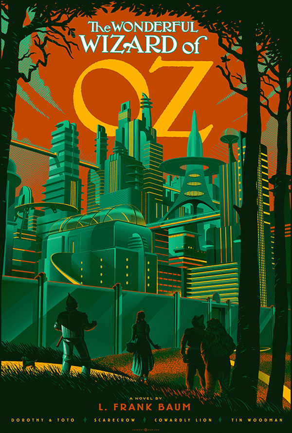 retro futuristic movie posters by lauren durieux 10 The Retro Futuristic Movie Posters of Laurent Durieux (15 Pics)