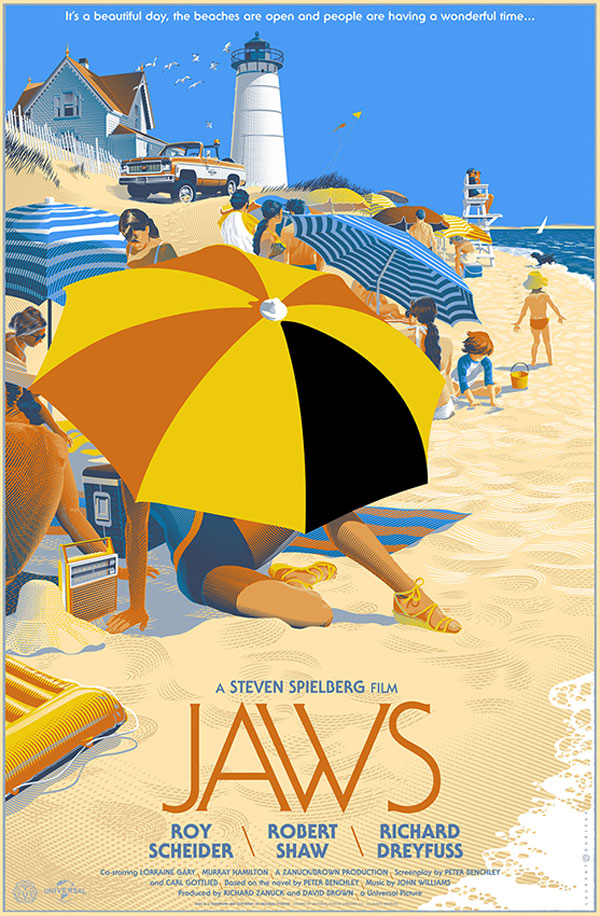 retro futuristic movie posters by lauren durieux 6 The Retro Futuristic Movie Posters of Laurent Durieux (15 Pics)