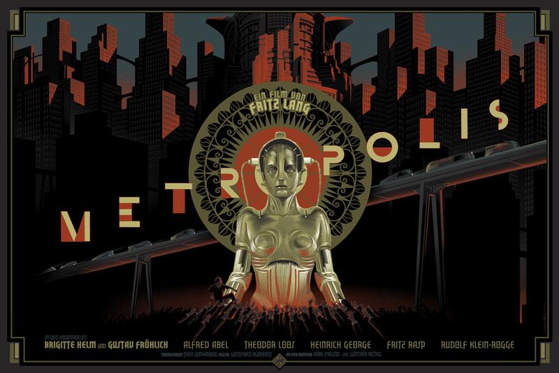 retro futuristic movie posters by lauren durieux 9 The Retro Futuristic Movie Posters of Laurent Durieux (15 Pics)