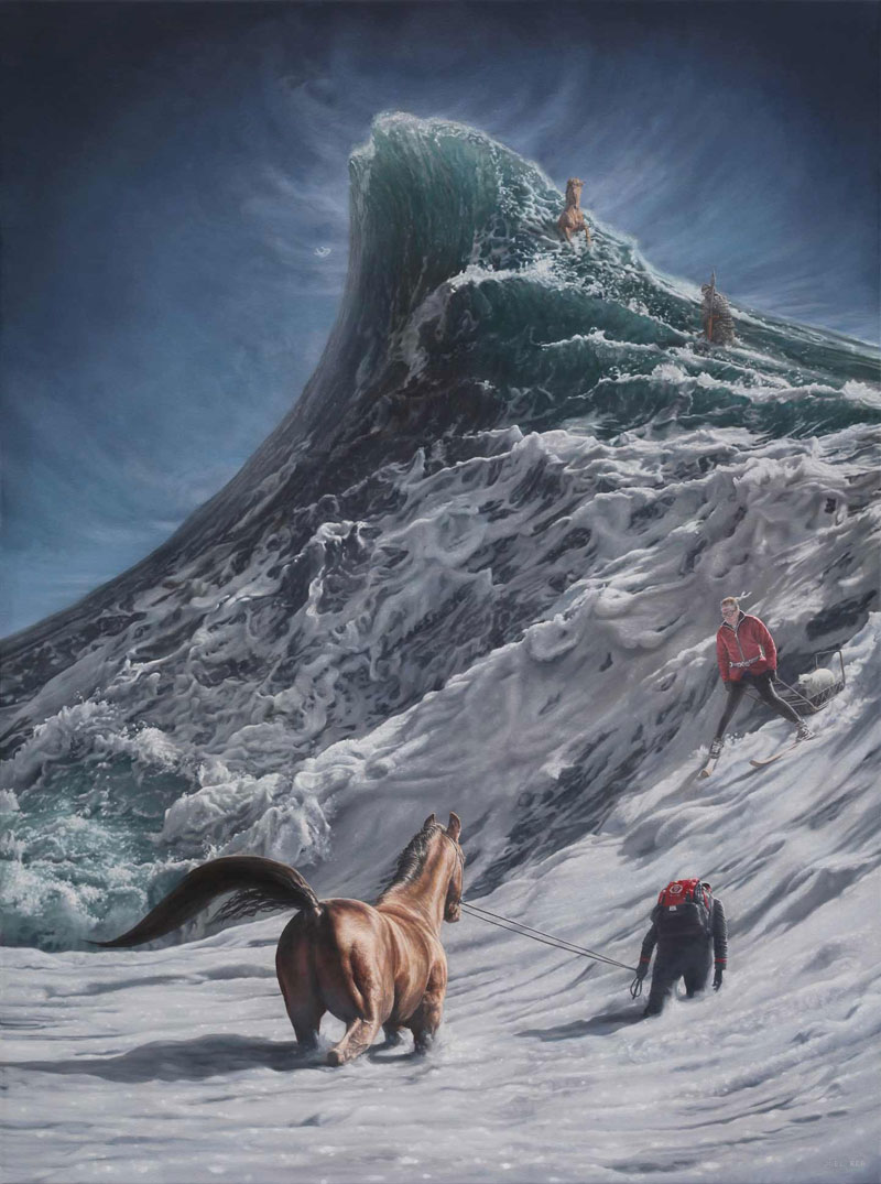 surreal oil paintings by joel rea 7 The Surreal Oil Paintings of Joel Rea (12 Photos)