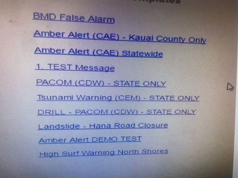 The Menu for Hawaii's Emergency Warning System is a UX Nightmare