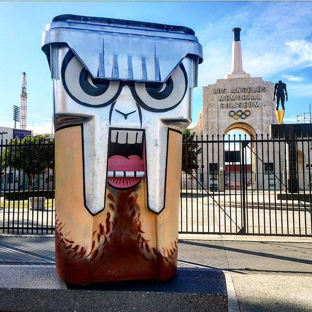 tom bob street art 12 Street Artist Tom Bob Adds Color to Mundane Objects Around Town