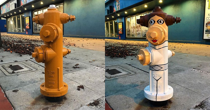 Street Artist 'Tom Bob' Adds Color to Mundane Objects Around Town