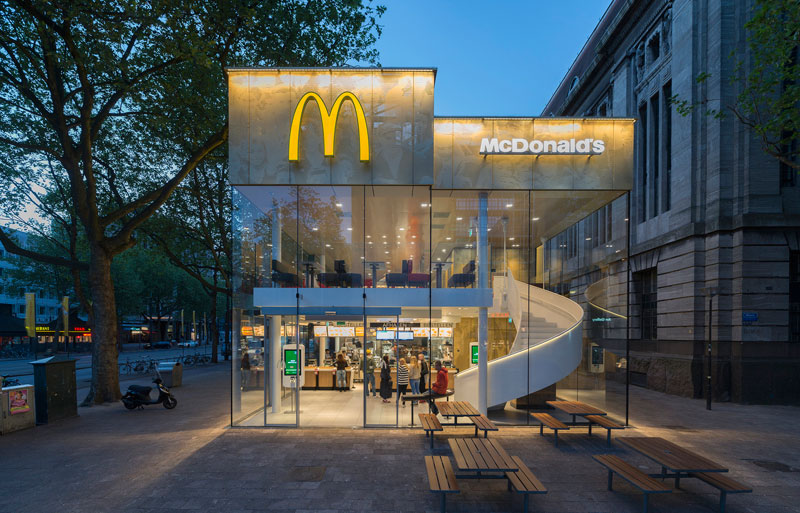 People Really Love or Hate this Fancy McDonald's in Rotterdam