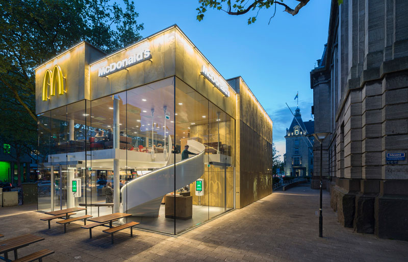 worlds fanciest mcdonalds mei architects rotterdam 11 People Really Love or Hate this Fancy McDonalds in Rotterdam