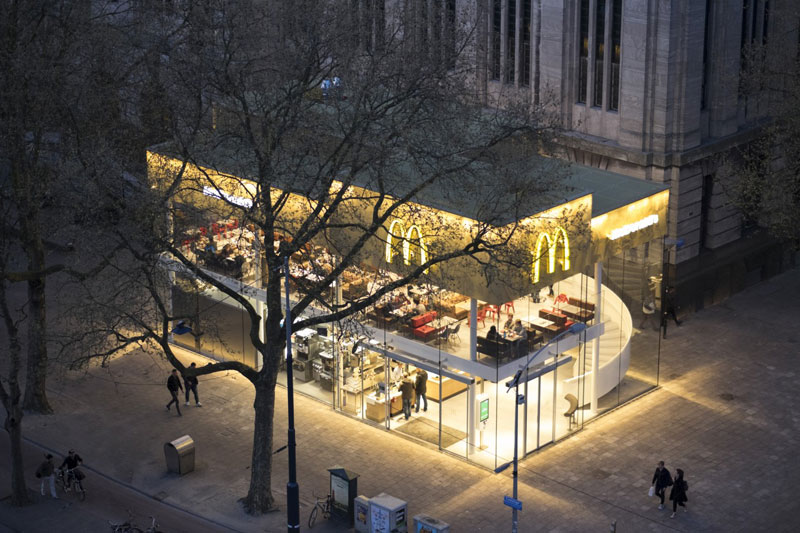 worlds fanciest mcdonalds mei architects rotterdam 3 People Really Love or Hate this Fancy McDonalds in Rotterdam