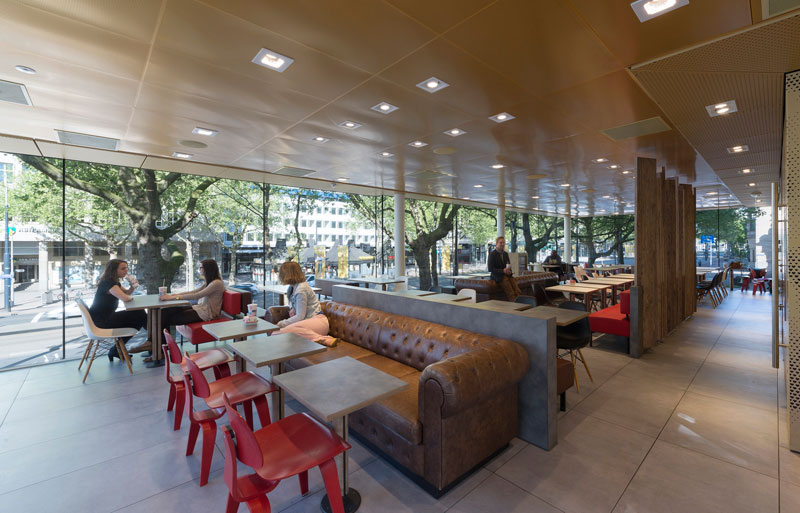 worlds fanciest mcdonalds mei architects rotterdam 6 People Really Love or Hate this Fancy McDonalds in Rotterdam