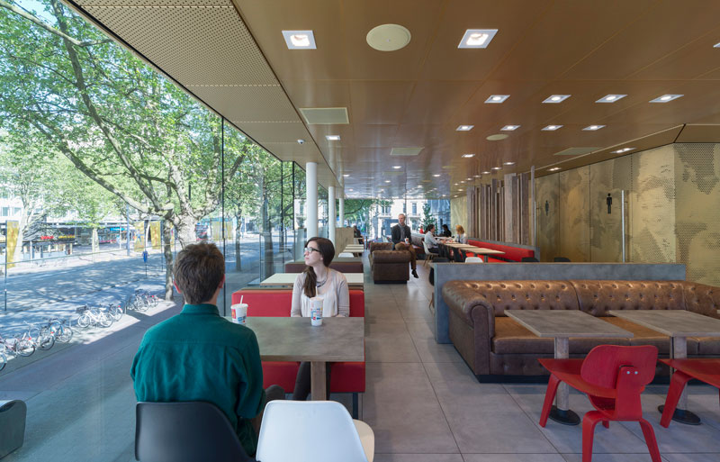 worlds fanciest mcdonalds mei architects rotterdam 7 People Really Love or Hate this Fancy McDonalds in Rotterdam