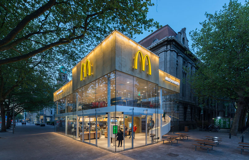 worlds fanciest mcdonalds mei architects rotterdam 9 People Really Love or Hate this Fancy McDonalds in Rotterdam