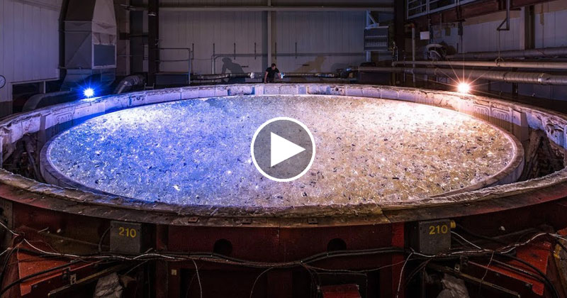 Casting the Mirror for the World's Largest Telescope