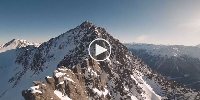 If You Were Superman Flying Through the Alps it Would Look Something LikeThis