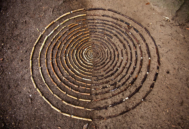 Artist Arranges Natural Objects Into Ephemeral Patterns And Designs Best Patterns And Designs