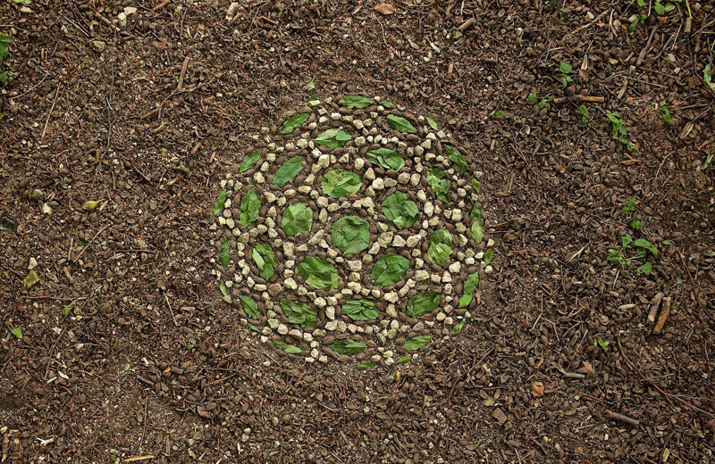 james blunt arranges natural objects into ephemeral patterns and designs 23 Artist Arranges Natural Objects Into Ephemeral Patterns and Designs