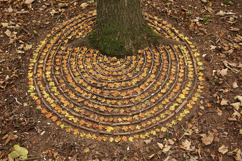 james blunt arranges natural objects into ephemeral patterns and designs 9 Artist Arranges Natural Objects Into Ephemeral Patterns and Designs