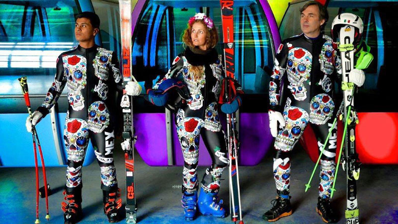 Mexico Has an Olympic Ski Team and Their Outfits are Awesome