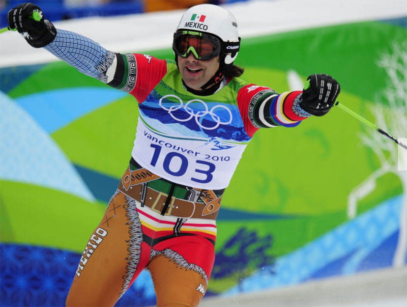 mexico has an olympic ski team and their outfits are awesome 3 Mexico Has an Olympic Ski Team and Their Outfits are Awesome