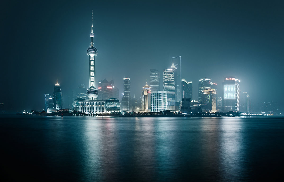 nightscapes by jakob wagner Night shanghai