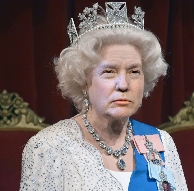 photoshopping trumps face onto the queens 24 This Woman Cant Stop Photoshopping Trumps Face Onto the Queens (Top 50)