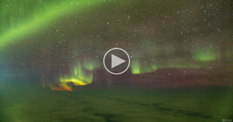 When You See the Northern Lights on Your Flight to Iceland to See.. the NorthernLights