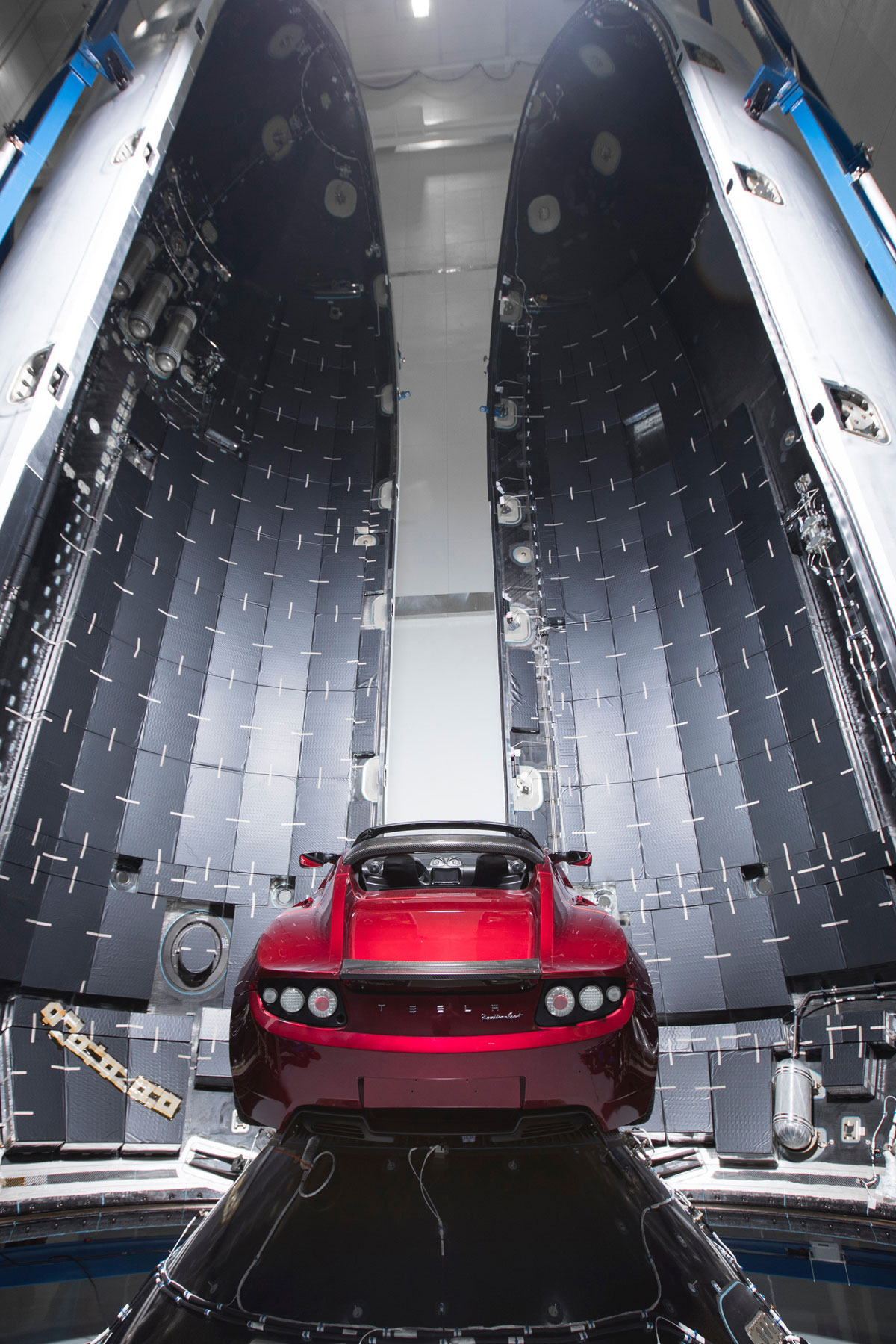 spacex falcon heavy launch tesla to mars 10 SpaceX Just Launched the Worlds Most Powerful Rocket and Sent a Tesla to Mars