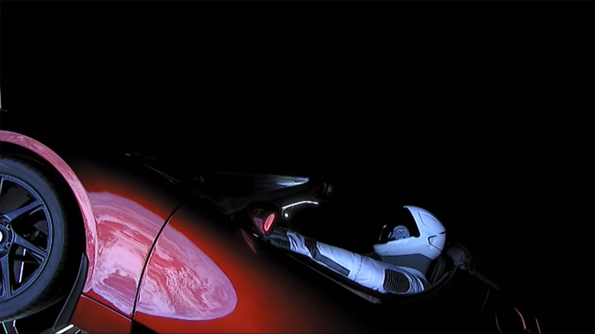 spacex falcon heavy launch tesla to mars 18 SpaceX Just Launched the Worlds Most Powerful Rocket and Sent a Tesla to Mars