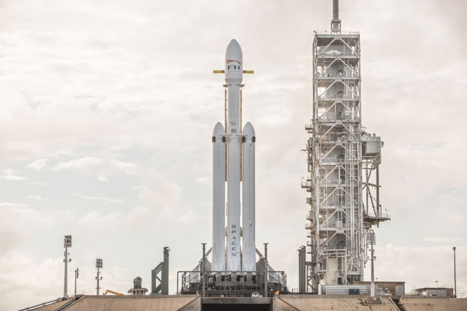spacex falcon heavy launch tesla to mars 2 SpaceX Just Launched the Worlds Most Powerful Rocket and Sent a Tesla to Mars