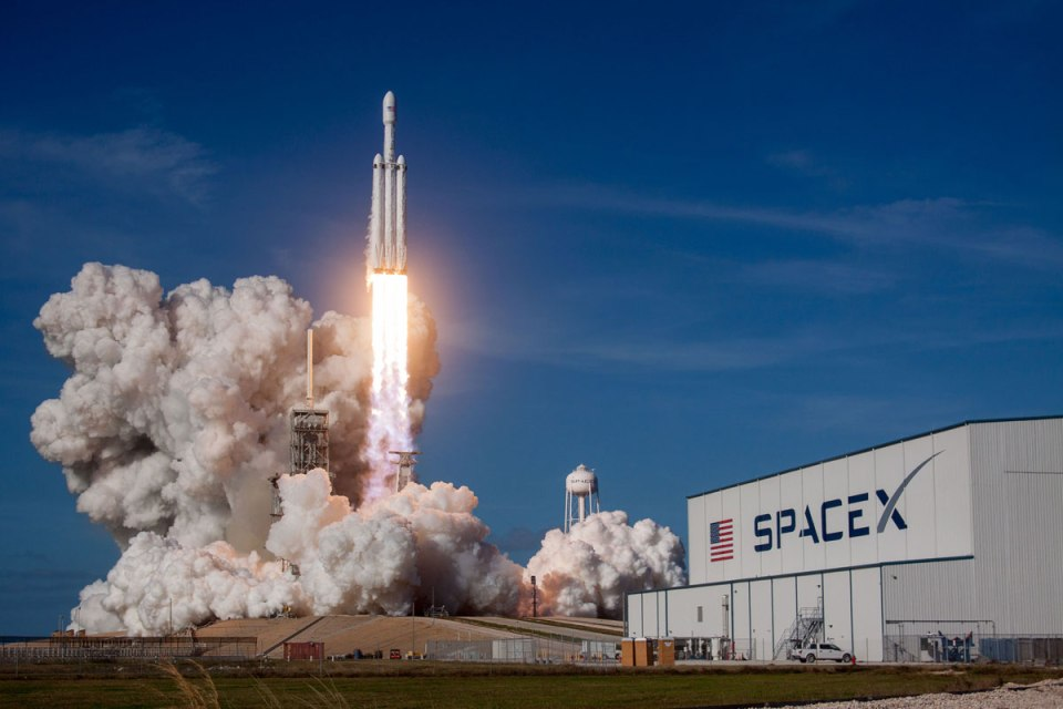 spacex falcon heavy launch tesla to mars 5 SpaceX Just Launched the Worlds Most Powerful Rocket and Sent a Tesla to Mars