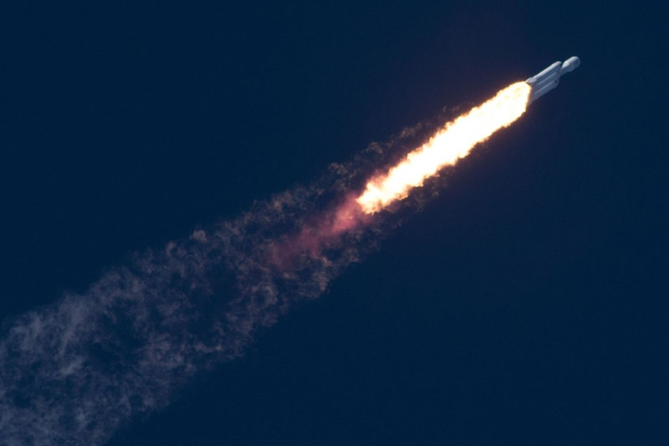 spacex falcon heavy launch tesla to mars 7 SpaceX Just Launched the Worlds Most Powerful Rocket and Sent a Tesla to Mars