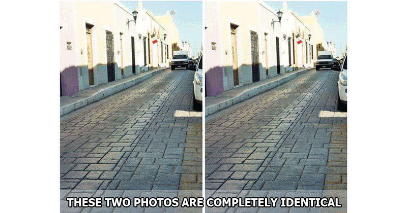 Wait, What? These Two Photos Are Completely Identical (With Proof)