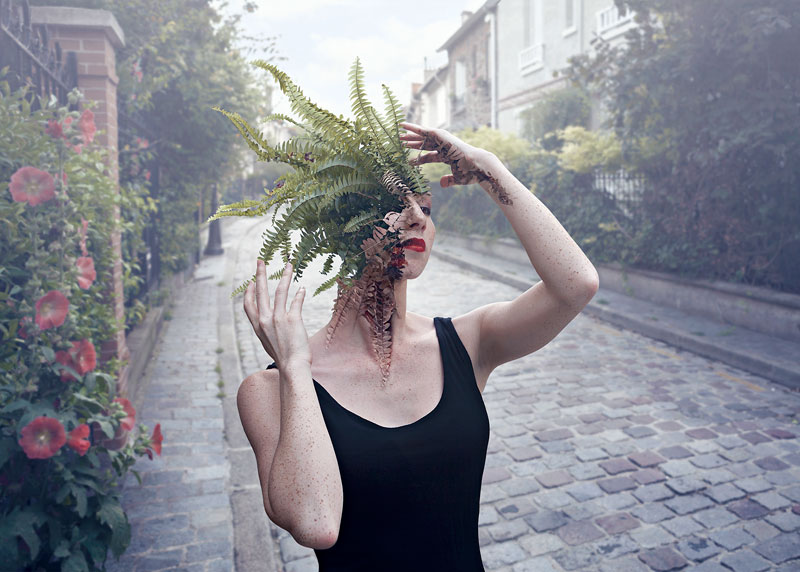 treebeard by cal redback 1 7 Surreal Portraits of Plants Taking Over Faces
