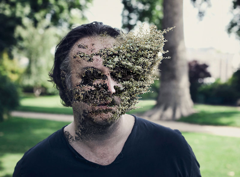 treebeard by cal redback 4 7 Surreal Portraits of Plants Taking Over Faces