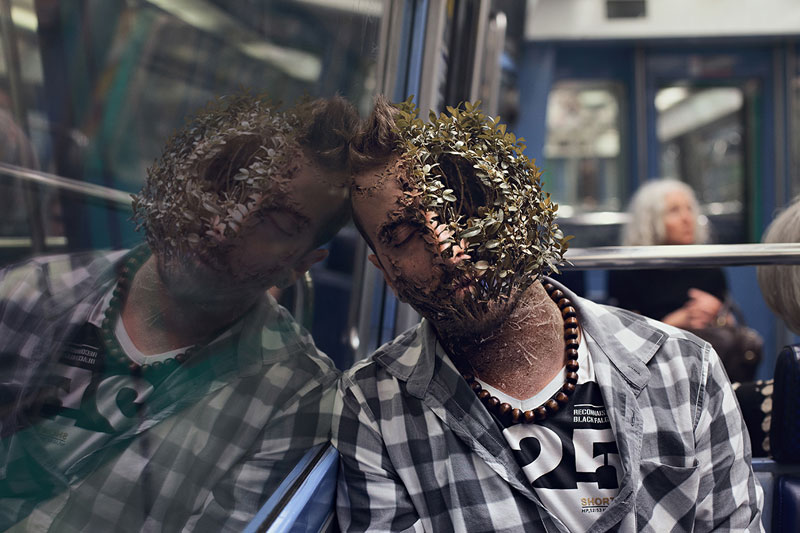 treebeard by cal redback 6 7 Surreal Portraits of Plants Taking Over Faces