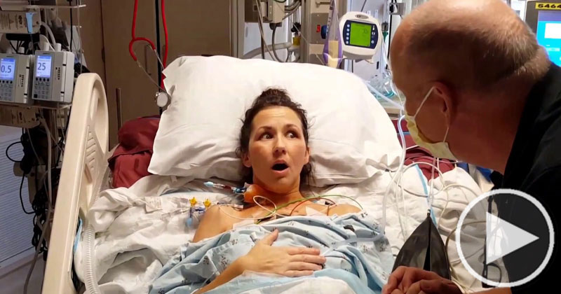 Woman Takes First Unobstructed Breath in Her Life After Lung Transplant