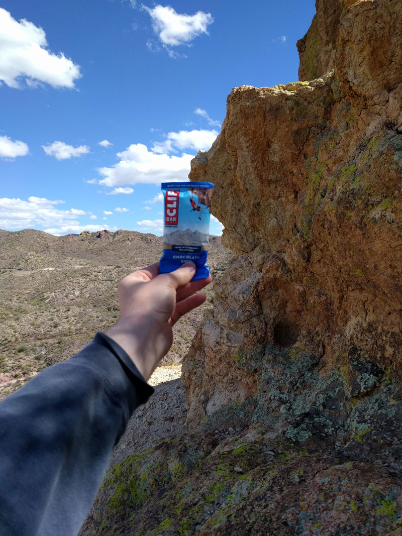 guy finds cliff from the clif bar Guy Finds Cliff from the Clif Bar