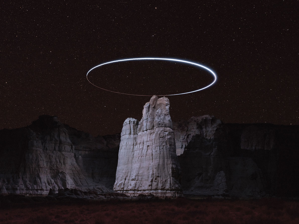 lux noctis by reuben wu 1 Long Exposure Mountain Halos and Drone Illuminated Landscapes at Night