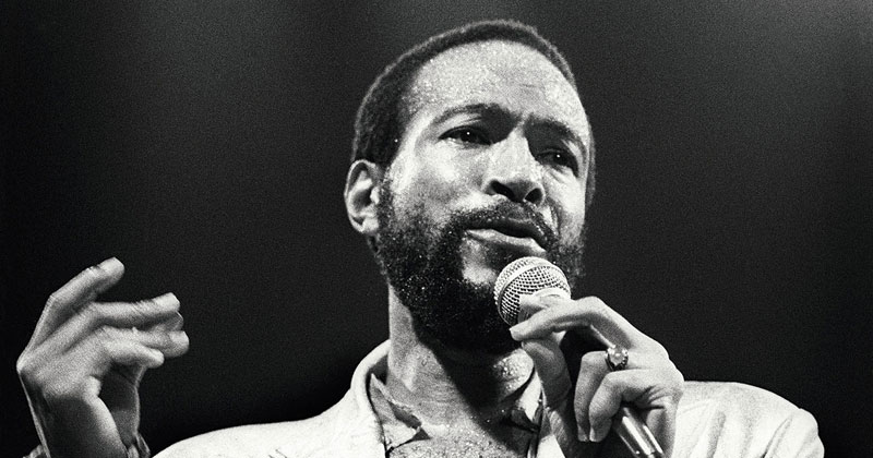 WHAT AGE DID MARVIN GAYE DIE