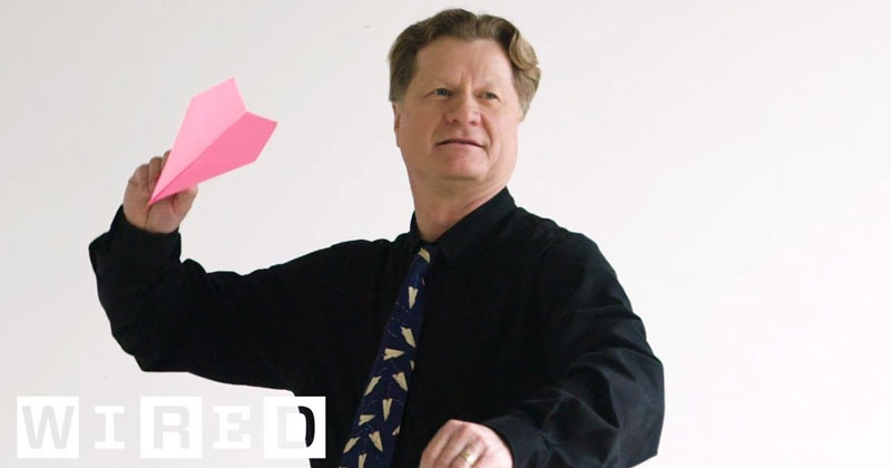 Master Class With a World Record Paper Airplane Maker