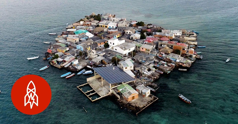 What It's Like to Live on the World's Most Crowded Island