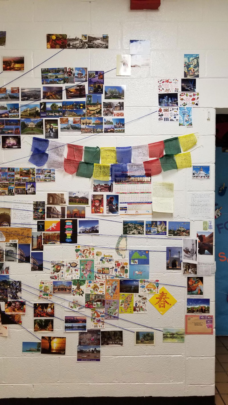 reddit teacher postcard project david arwood 1 Teachers Postcard Project Goes Viral, Reaches 90 Countries and Every US State