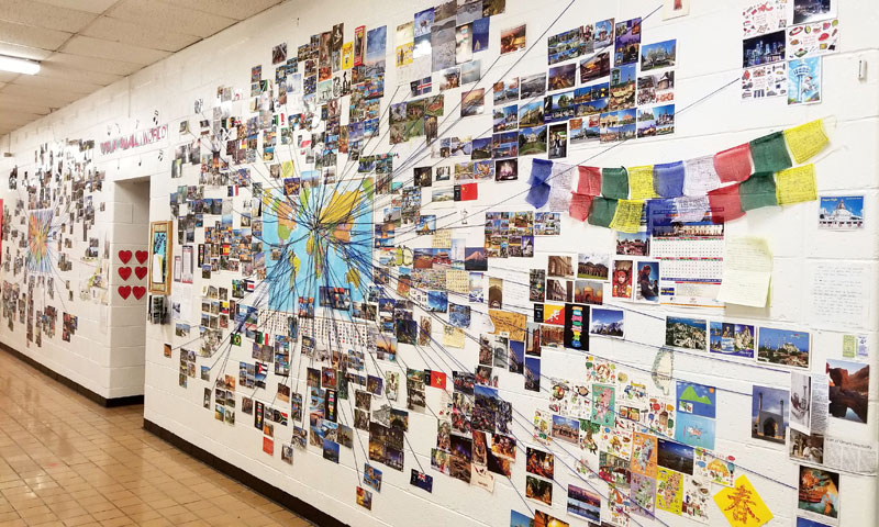 Teacher's Postcard Project Goes Viral, Reaches 90 Countries and Every US State