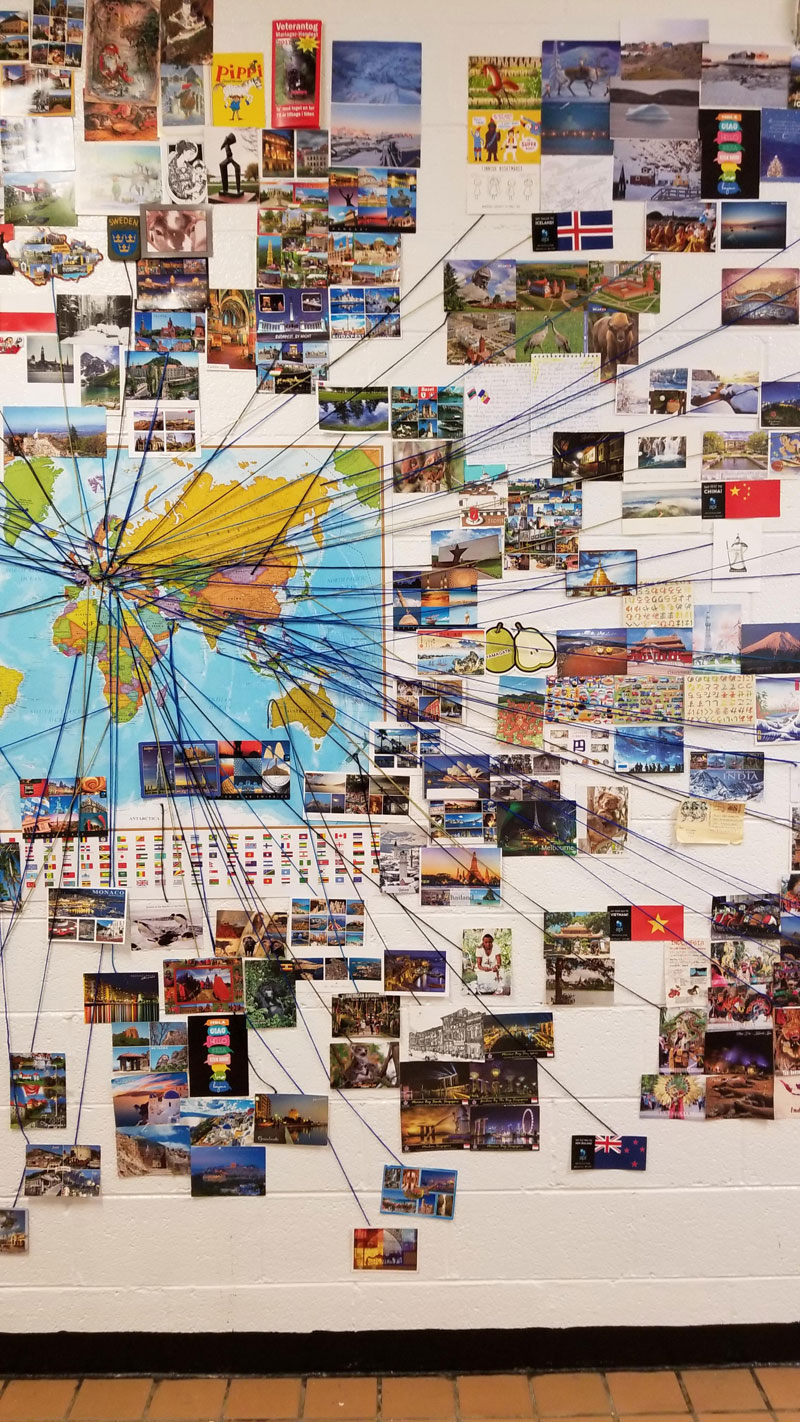 reddit teacher postcard project david arwood 4 Teachers Postcard Project Goes Viral, Reaches 90 Countries and Every US State