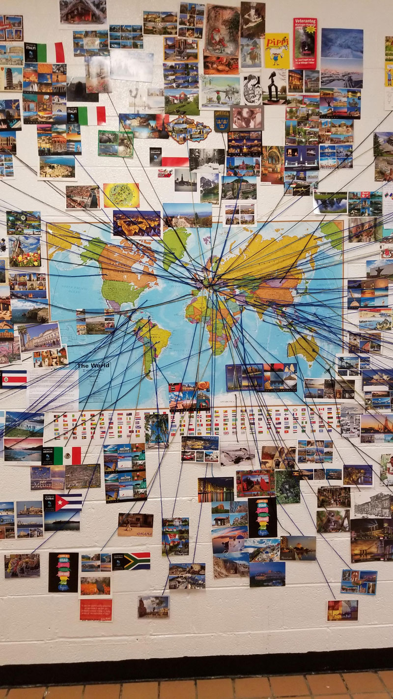 reddit teacher postcard project david arwood 5 Teachers Postcard Project Goes Viral, Reaches 90 Countries and Every US State