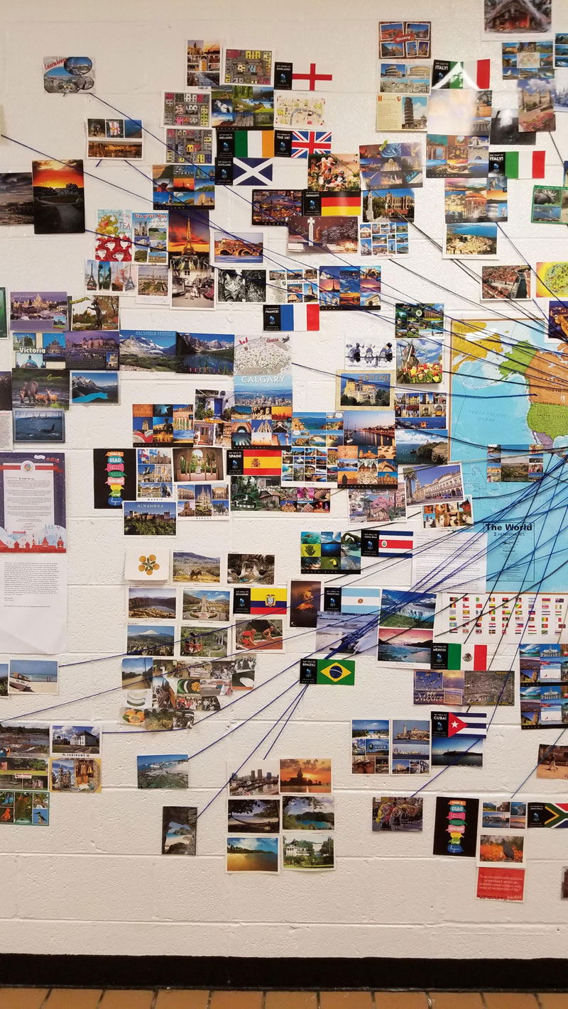 reddit teacher postcard project david arwood 6 Teachers Postcard Project Goes Viral, Reaches 90 Countries and Every US State