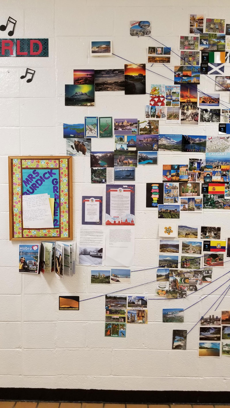 reddit teacher postcard project david arwood 7 Teachers Postcard Project Goes Viral, Reaches 90 Countries and Every US State
