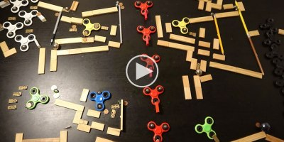 Rube Goldberg Fidget SpinnerMemorial